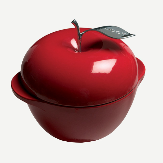 LODGE APPLE POT RED