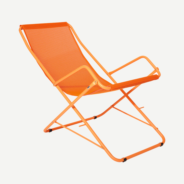 BAHAMA DECKCHAIR ORANGE
